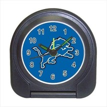 Detroit Compact Travel Alarm Clock - NFL Football  (Battery Included) - $9.95