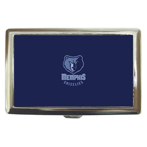 Memphis Grizzlies Cigarette, Money, Card Holder Case - NBA Basketball