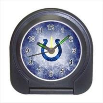 Indianpolis Colts Compact Travel Alarm Clock - NFL Football (Battery Inc... - $9.95