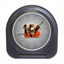 Cincinnati Bengals Compact Travel Alarm Clock - NFL Football (Battery In... - $9.95