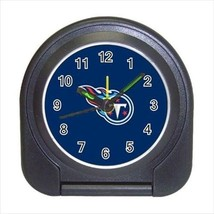 Tennessee Titans Compact Travel Alarm Clock - NFL Football (Battery Included) - $9.95
