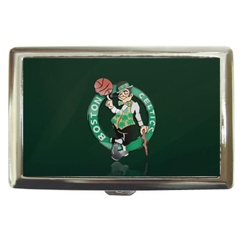 Boston Celtics Cigarette, Money, Card Holder Case - NBA Basketball