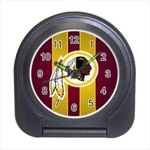 Washington Redskins Compact Travel Alarm Clock - NFL Football (Battery Included) - $9.95