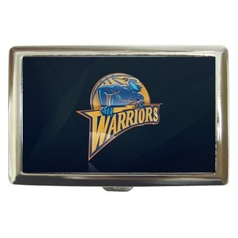 Golden State Warriors Cigarette, Money, Card Holder Case - NBA Basketball