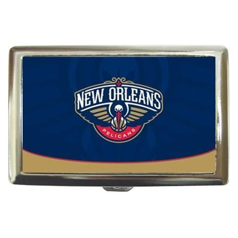 New Orleans Pelicans Cigarette, Money, Card Holder Case - NBA Basketball