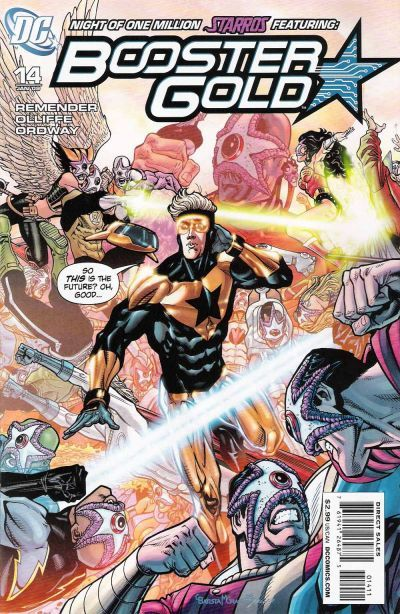 Booster gold  2007 series   14