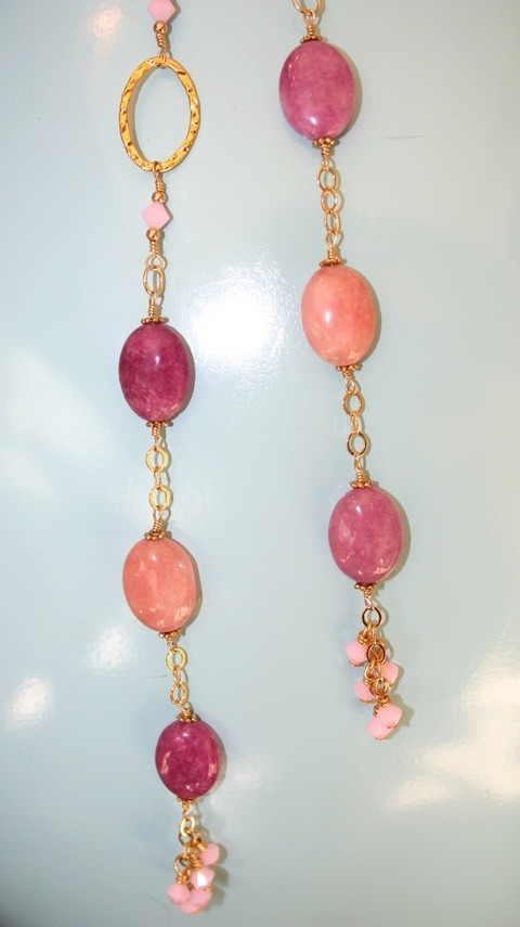 necklace hand made unique design 18k gold