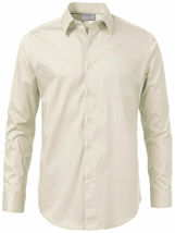 Men's Solid Long Sleeve Formal Button Up French Convertible Cuff Dress Shirt image 9