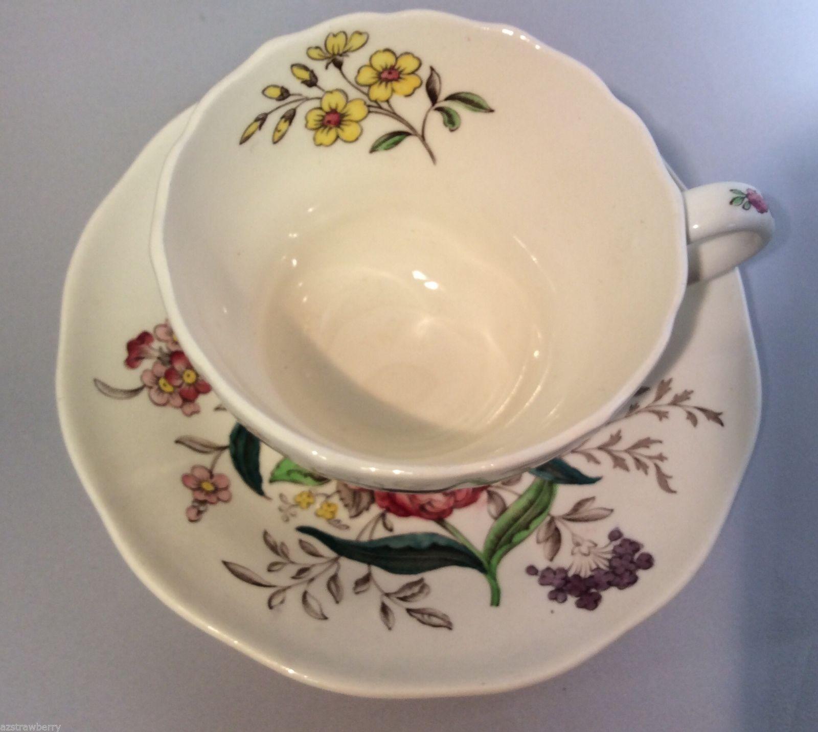 Copeland Spode Great Britain Gainsborough Porcelain Tea Coffee sup & saucer set