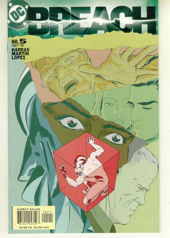 BREACH #5 (DC Comics) NM!