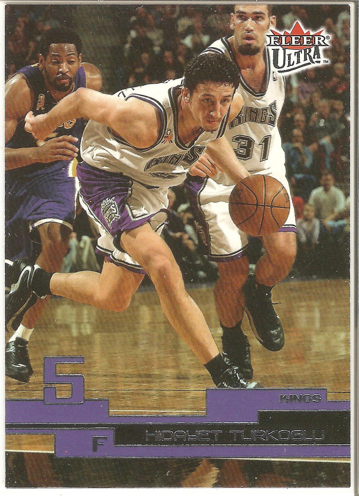 Hidayet Turkaglu Fleer Ultra 02-03 #17 Sacramento Kings Orlando Magic LA Clipper