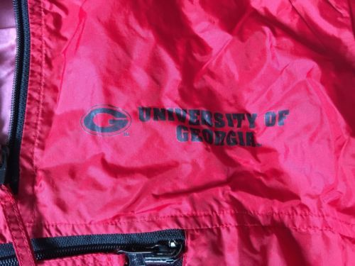 University of Georgia Bulldogs UGA Windbreaker/Jacket Youth Medium Pro Player