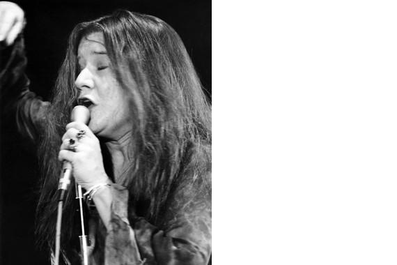 Janis Joplin S MM74 Vintage 8X10 BW Memorabilia Photo