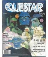 Questar Sci Fi Magazine #8 Star Wars Empire Strikes Back Cover 1980 FINE+ - $7.84
