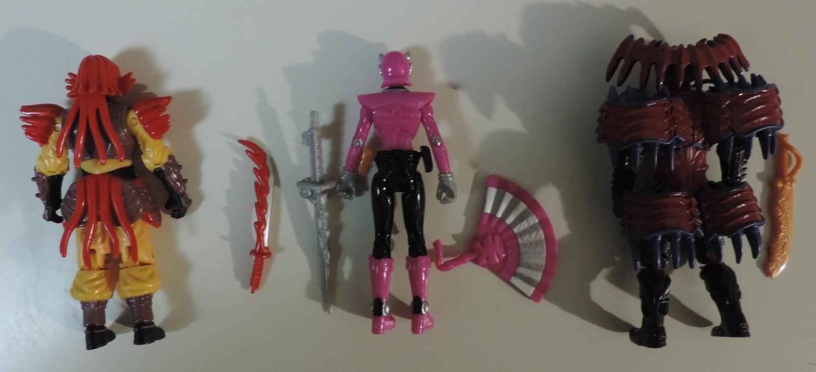 Bandai Saban Power Rangers lot of 3 Mooger, Pink Mega Ranger & Master Xandred