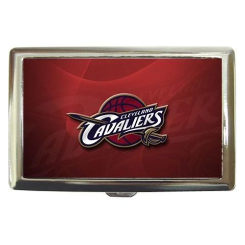 Cleveland Cavaliers Cigarette, Money, Card Holder Case - NBA Basketball