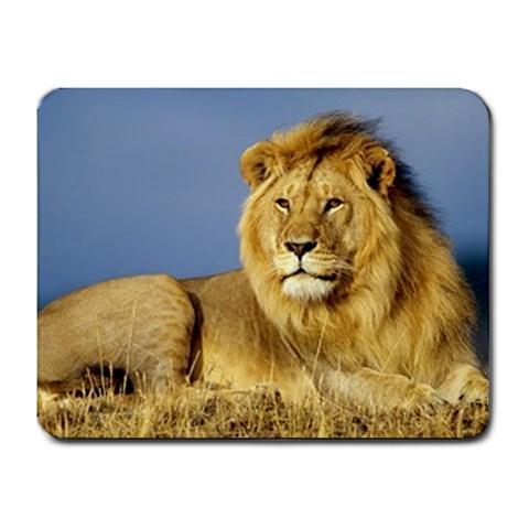 Male Lion Mousepad - Photography
