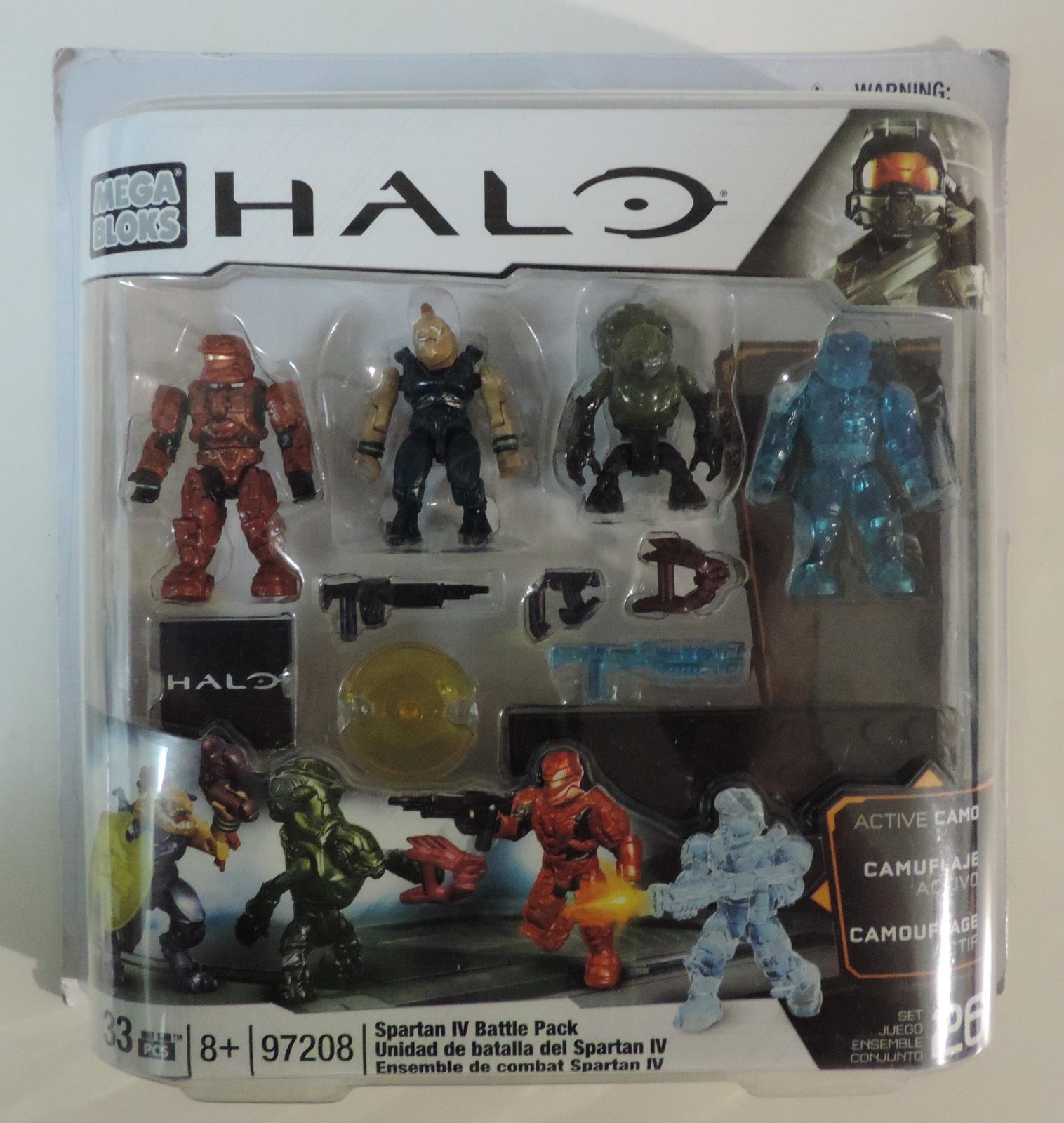 Mega Bloks HALO Spartan IV Battle Pack - New
