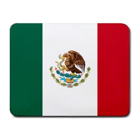 Flag of Mexico (Mexican) Mousepad