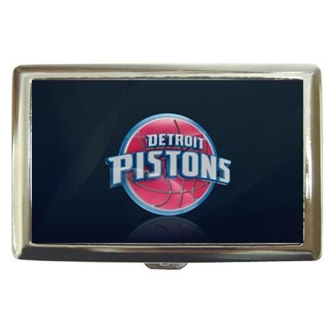 Detroit Pistons Cigarette, Money, Card Holder Case - NBA Basketball