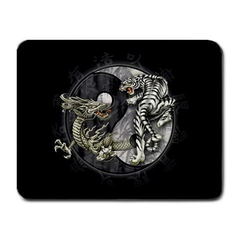 Dragon Tiger Taosim Mousepad