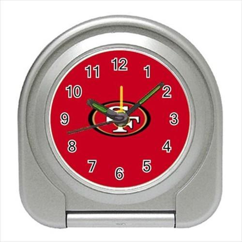 San Franciso 49ers Compact Travel Alarm Clock - NFL Football (Battery Included)
