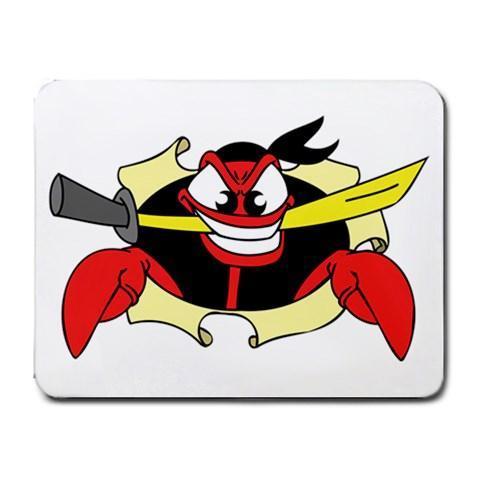 Pirate Lobster Mousepad - Cartoon Series #5