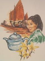 Lenier's Sakura Cherry Blossom Green Leaf Tea  3oz Pkg. Free Shipping De... - $5.99