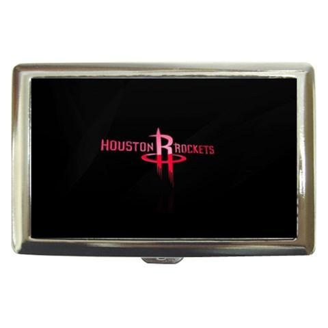 Houston Rockets Cigarette, Money, Card Holder Case - NBA Basketball