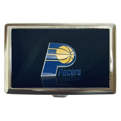 Indiana Pacers Cigarette, Money, Card Holder Case - NBA Basketball