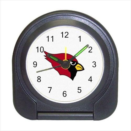 Arizona Cardinal Portable Travel Alarm Clock - NFL Football (Battery Included)