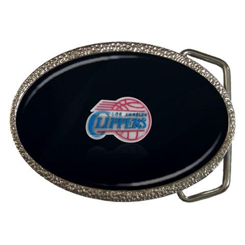 Los Angeles Clippers Chrome Belt Buckle - NBA Basketball