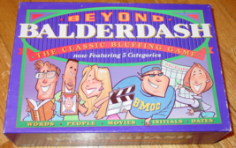 BEYOND BALDERDASH HILARIOUS Bluffing Game PARKER BROTHERS 1995 COMPLETE ... - $30.00