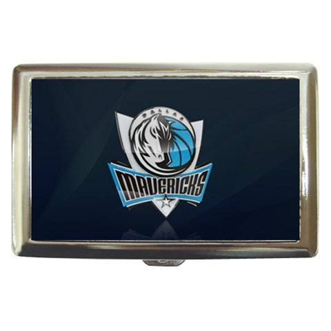 Dallas Mavericks Cigarette, Money, Card Holder Case - NBA Basketball