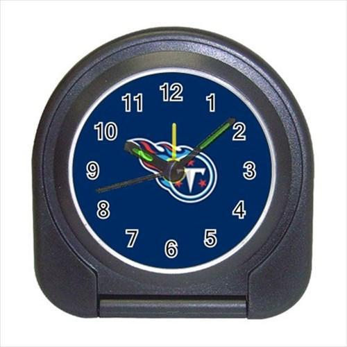 Tennessee Titans Compact Travel Alarm Clock - NFL Football (Battery Included)