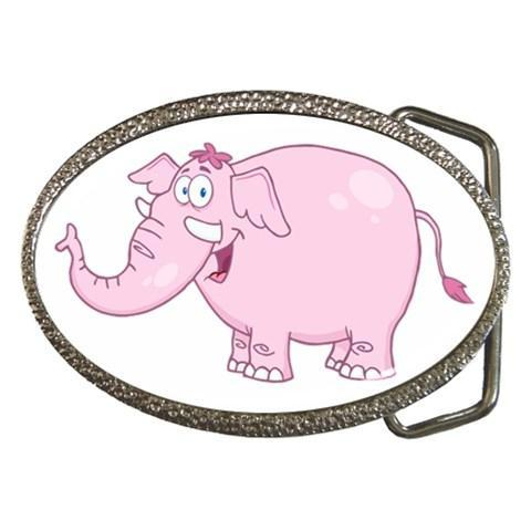 Cartoon Animal Belt Buckles - Various Designs (Whale, Horse, Elephant, Dog Paw)