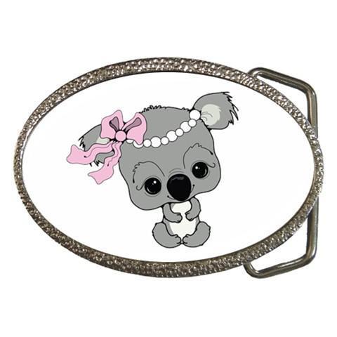 Cute Cartoony Belt Buckles - Baby Dragon, Angry Fish, Baby Kola, Bee,