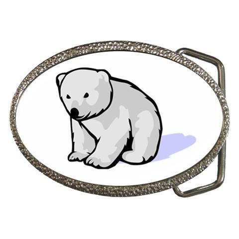 Children Cartoon Belt Buckle - 10 Different Designs (Panda, Penguin, Polar Bear)
