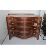 Henredon Oxford Classics Mahogany & Rosewood Single Dresser Chest 9400-02 - $2,744.55
