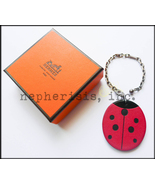 RARE AUTH NWB Hermes Animal Collection Leather Bag Charm or Keychain LAD... - $475.00