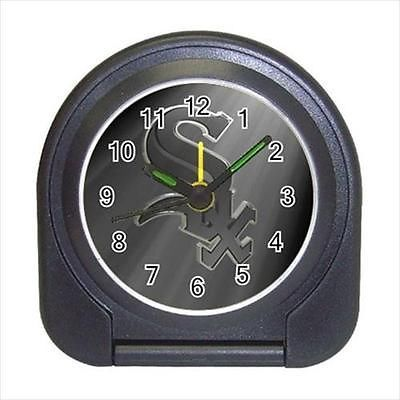 Chicago White Sox Compact Travel Alarm Clock (Battery Included) - MLB Baseball