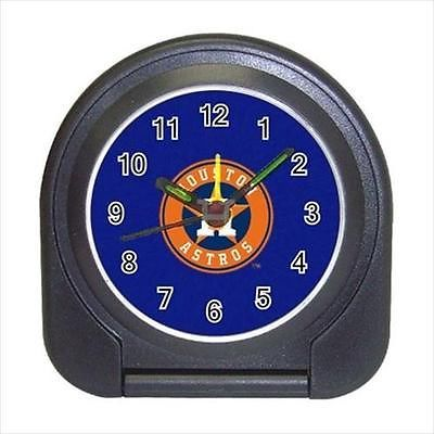 Houston Astros Compact Travel Alarm Clock (Battery Included) - MLB Baseball