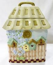 "cookie jar Gibson 10.5"" home sweat home ceramic - $49.49"