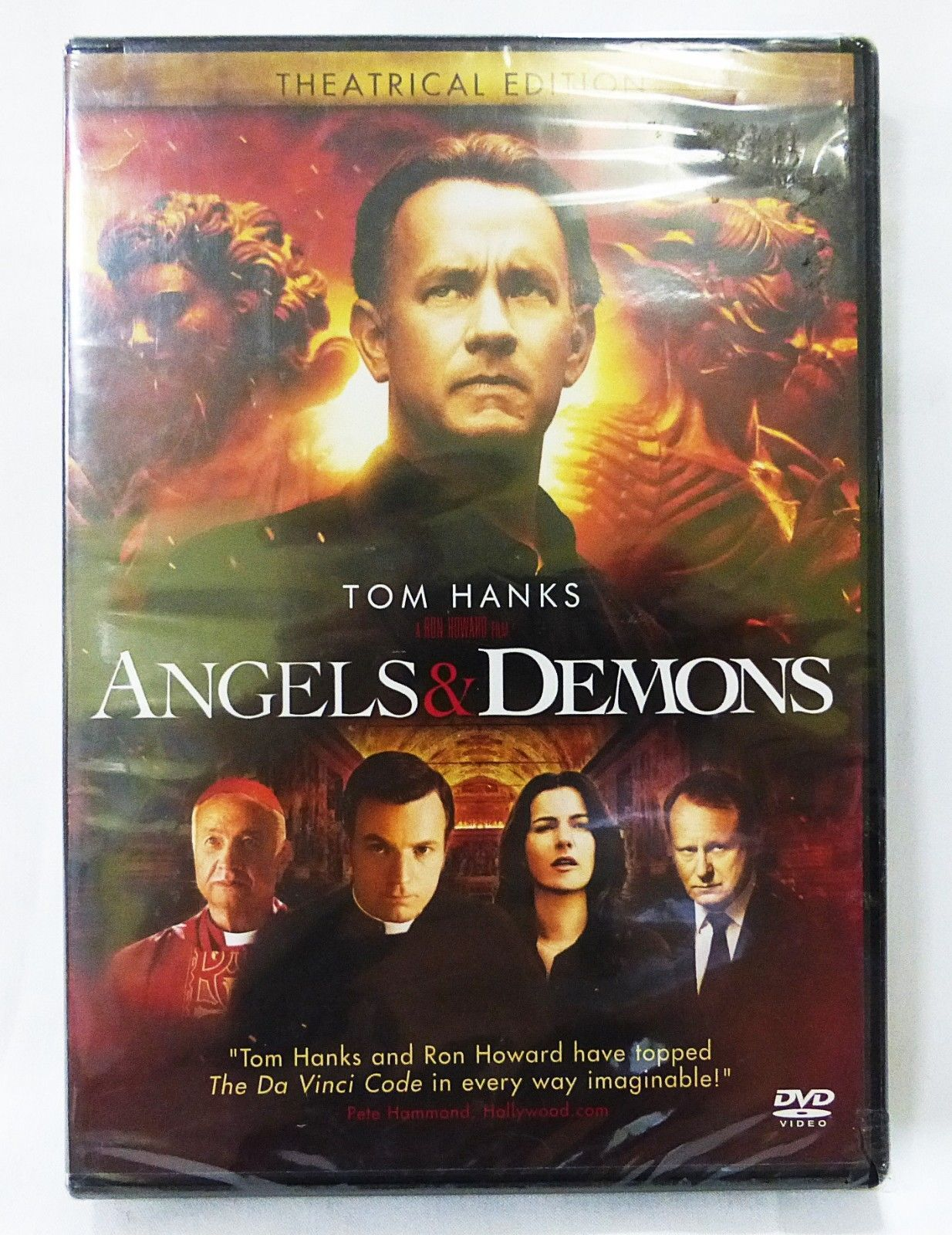 Angels & Demons DVD theatrical edition tom hanks 2009