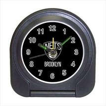 Brooklyn Nets Compact Travel Alarm Clock (Battery Included) - MLB Baseball - $9.94