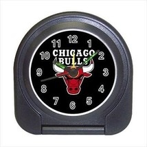 Chicago Bulls Compact Travel Alarm Clock (Battery Included) - NBA Basketball - $9.94