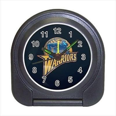 Golden State Warriors Compact Travel Alarm Clock (Battery Included) - Basketball