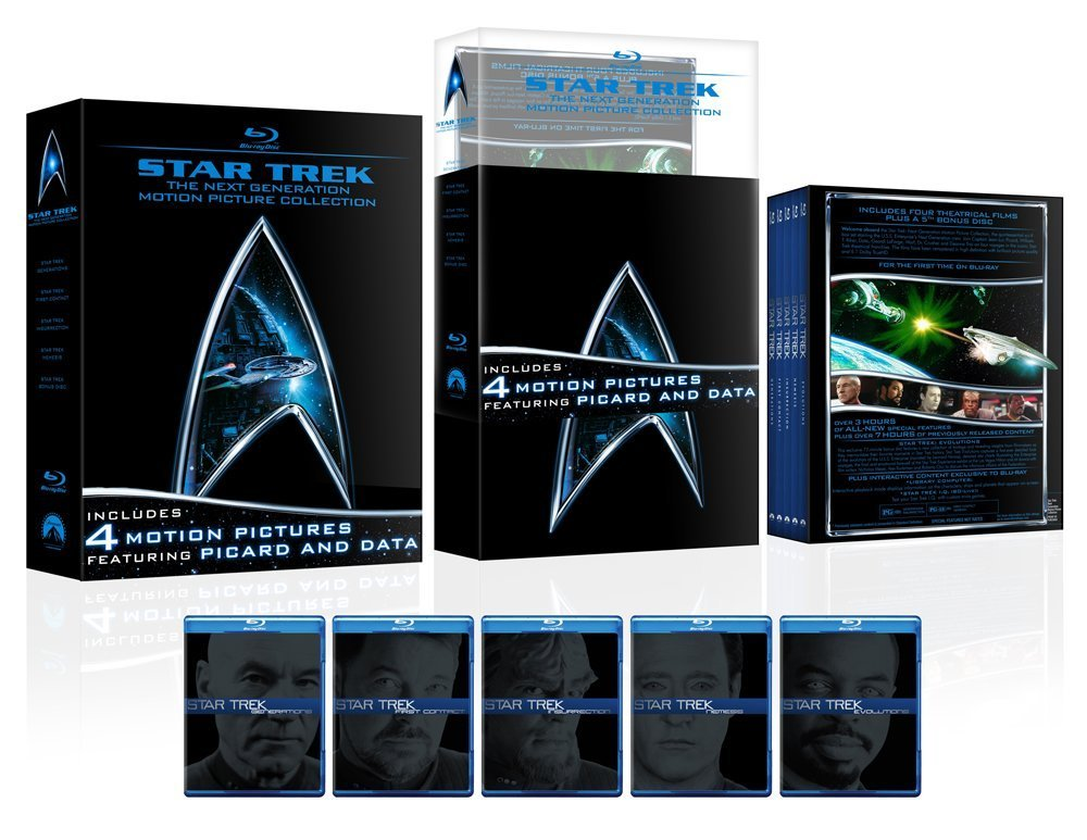 Star Trek: The Next Generation Motion Picture Collection (First Contact / Genera