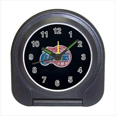 Los Angeles Clippers Compact Travel Alarm Clock (Battery Included) - Basketball