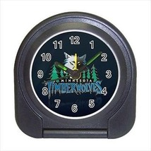 Minnesota Timberwolves Compact Travel Alarm Clock (Battery Included) - NBA - $9.94